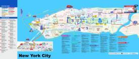 Manhattan Tourist Map