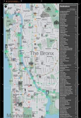 New York City Tourist Map