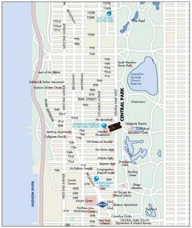 Upper West Side‎ map