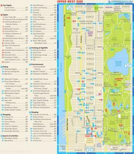 Upper West Side‎ Tourist Map