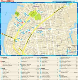 Williamsburg Tourist Map