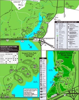 Newport News park map