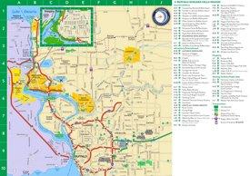 Niagara Falls area tourist map