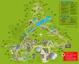 Omaha Zoo map