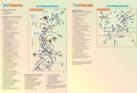 Orlando International Drive hotel map