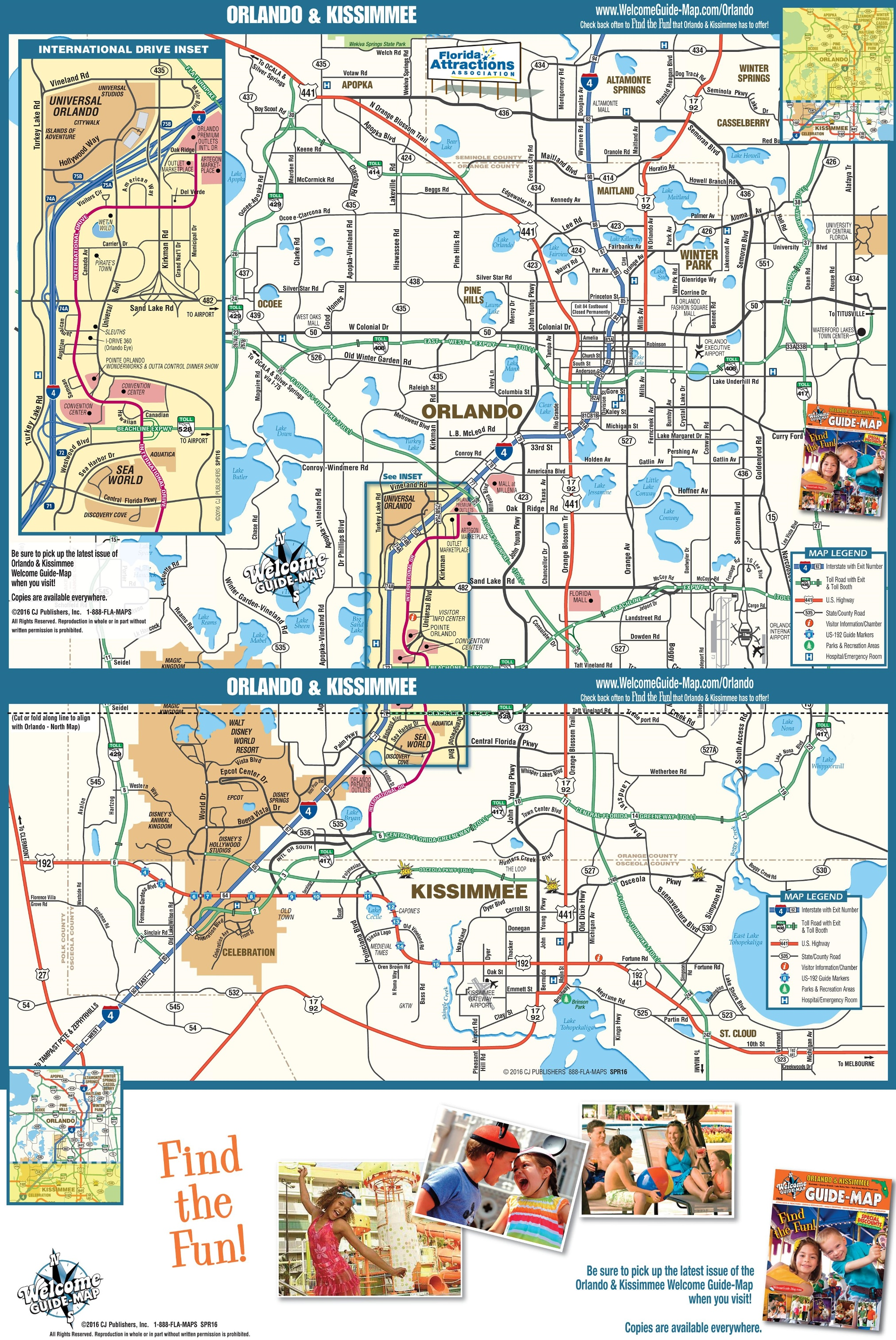 Orlando Metro Map.Orlando Maps Florida U S Maps Of Orlando