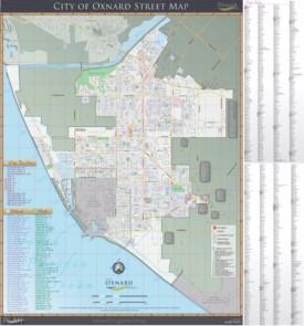 Oxnard street map