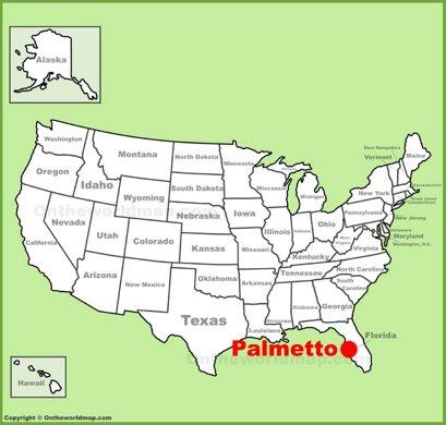 Palmetto Location Map