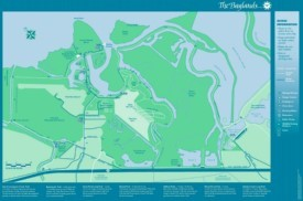 Palo Alto Baylands map