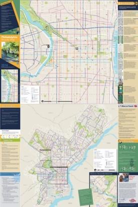 Philadelphia bike map