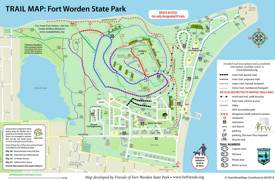 Fort Worden Trail Map