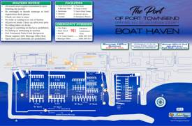 Map of Port of Port Townsend