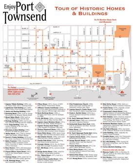Port Townsend Tourist Attractions Map