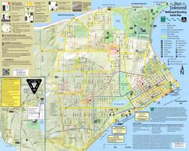 Port Townsend Walking And Bicycling Map