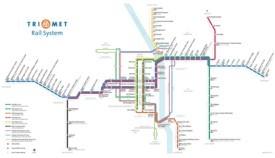 Portland rail map