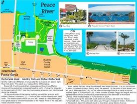 Punta Gorda - Peace River Map