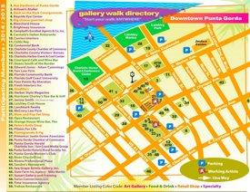 Punta Gorda tourist map