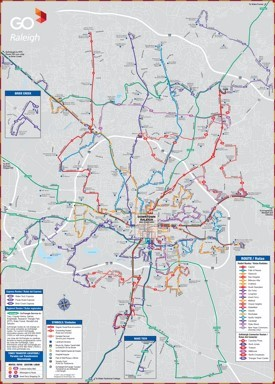 Raleigh transport map