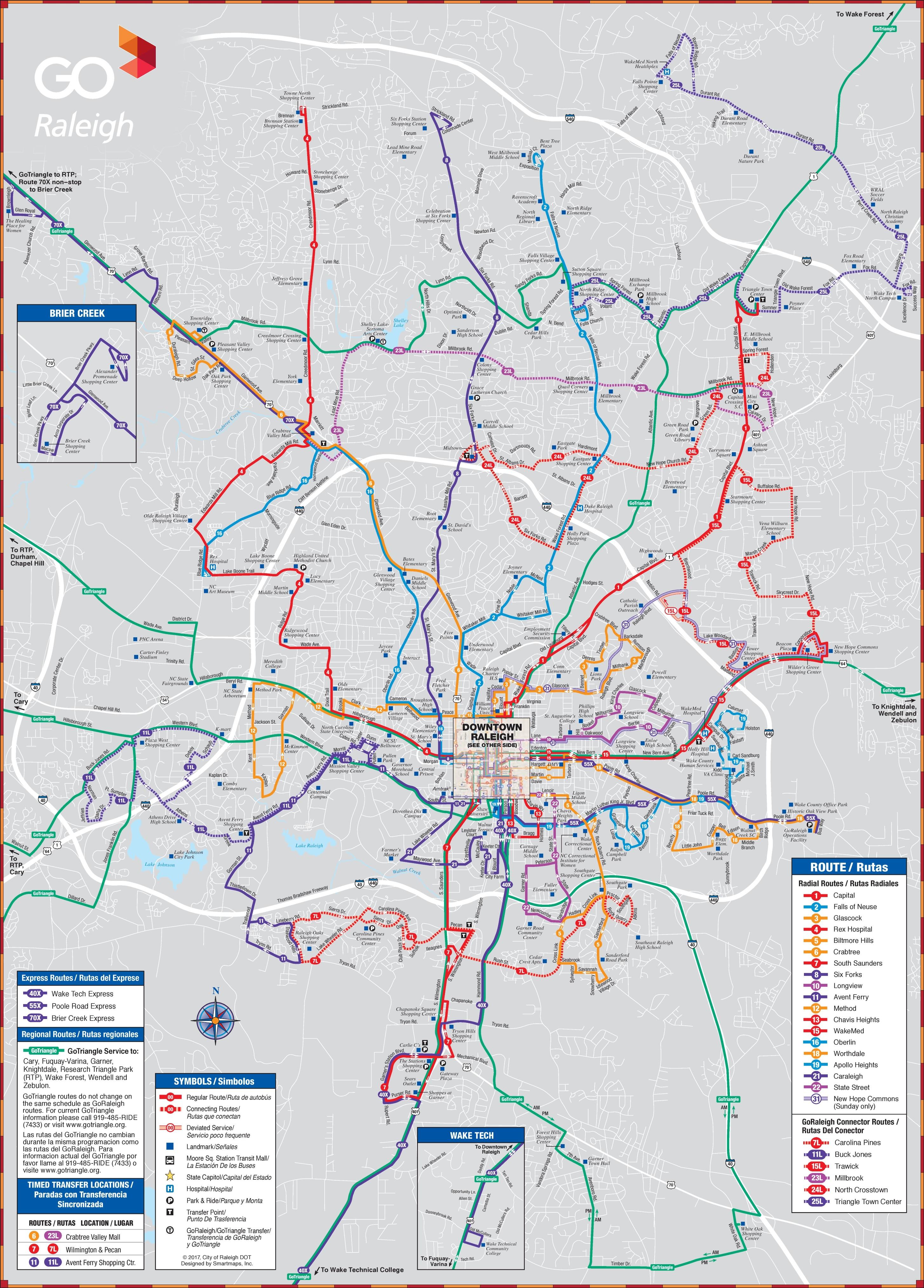 Raleigh transport map