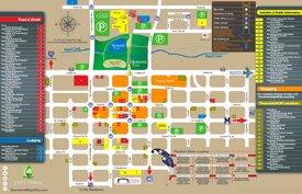 Rapid City restaurants map