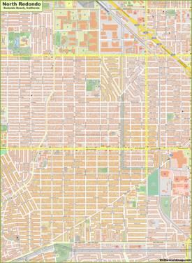 North Redondo Map