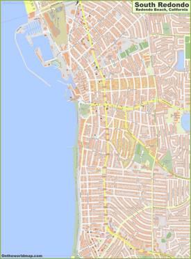 South Redondo Map