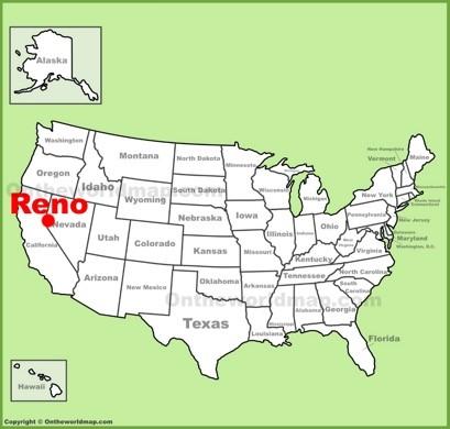 Map Of Reno Nevada Reno Maps | Nevada, U.S. | Maps of Reno