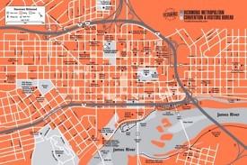 Richmond downtown map