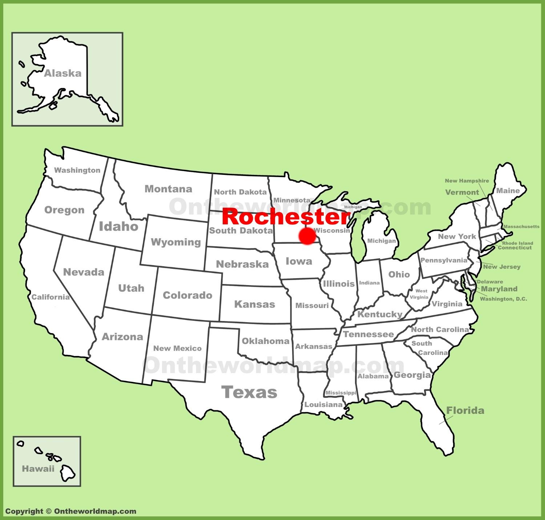Map Of Rochester Mn Rochester Maps | Minnesota, U.S. | Maps of Rochester