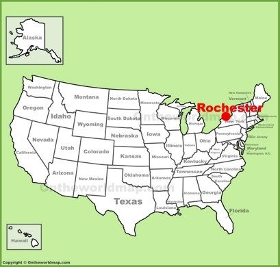 Rochester Location Map