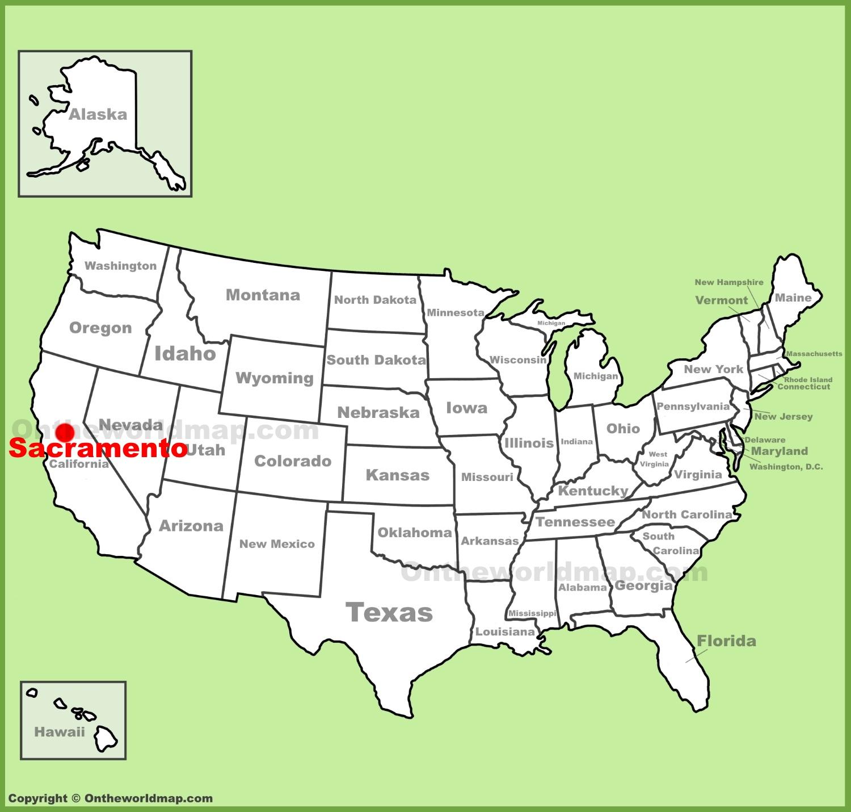 Sacramento On Map Sacramento Maps | California, U.S. | Maps of Sacramento