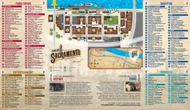 Sacramento old town map
