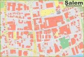 Salem downtown map