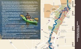 San Antonio river walk map