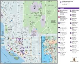 San Diego hotel map