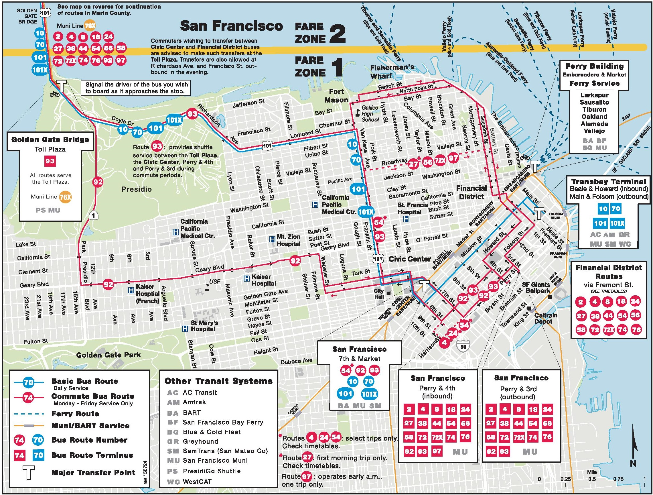 san francisco bus map
