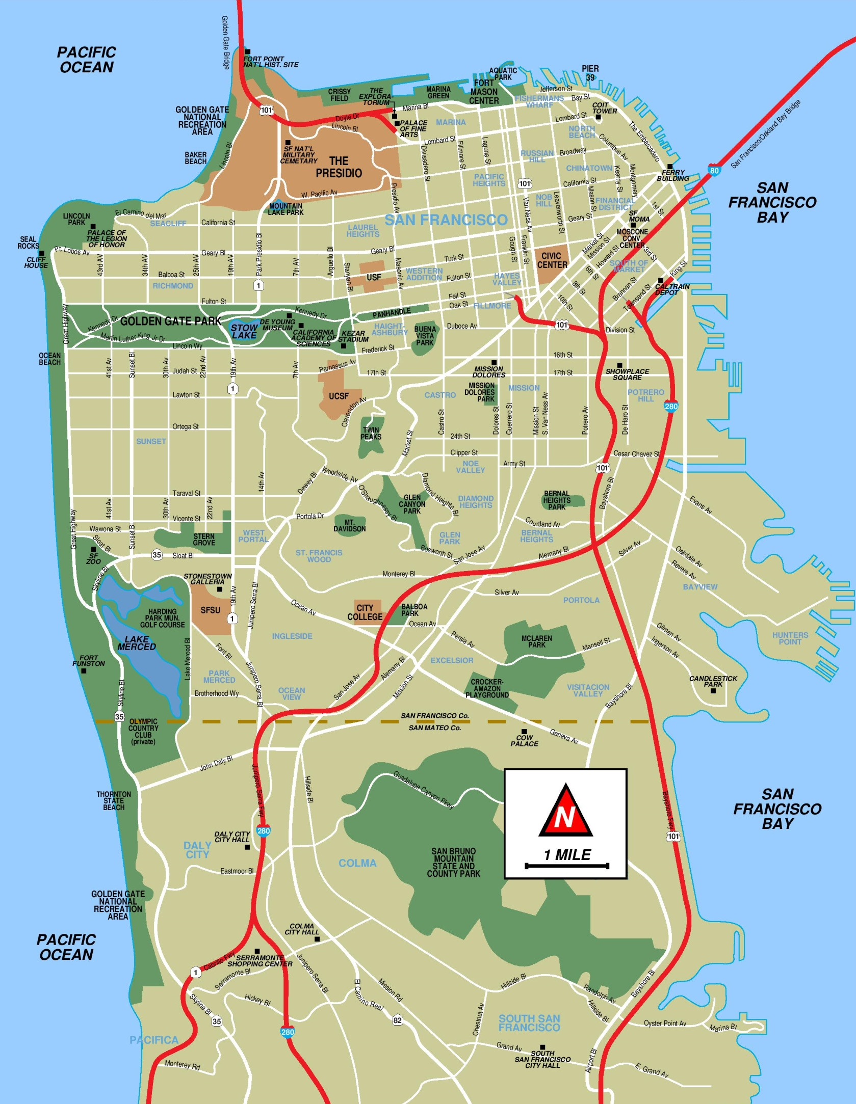 Rhode Island St San Francisco Ca