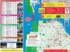 San Francisco tourist attractions map