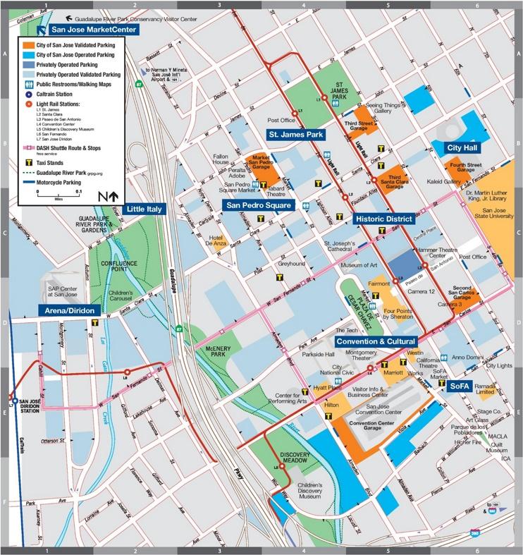 Jose parking map