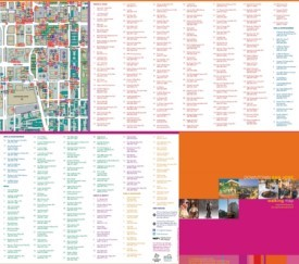 San Jose tourist attractions map