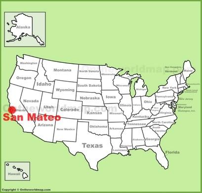 San Mateo Location Map