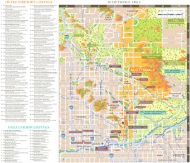 Scottsdale hotel map
