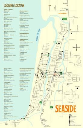 Seaside Hotel Map