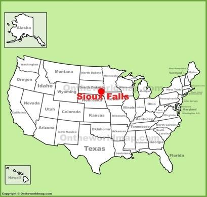 Sioux Falls Map Sioux Falls Maps | South Dakota, U.S. | Maps of Sioux Falls
