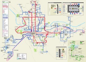 Spokane transport map