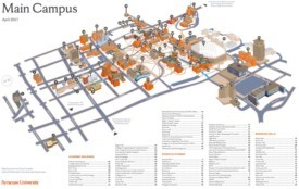 Syracuse main campus map