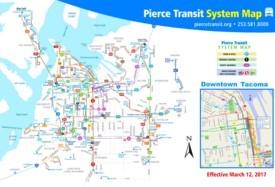 Tacoma transport map