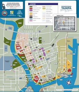 Tampa tourist attractions map