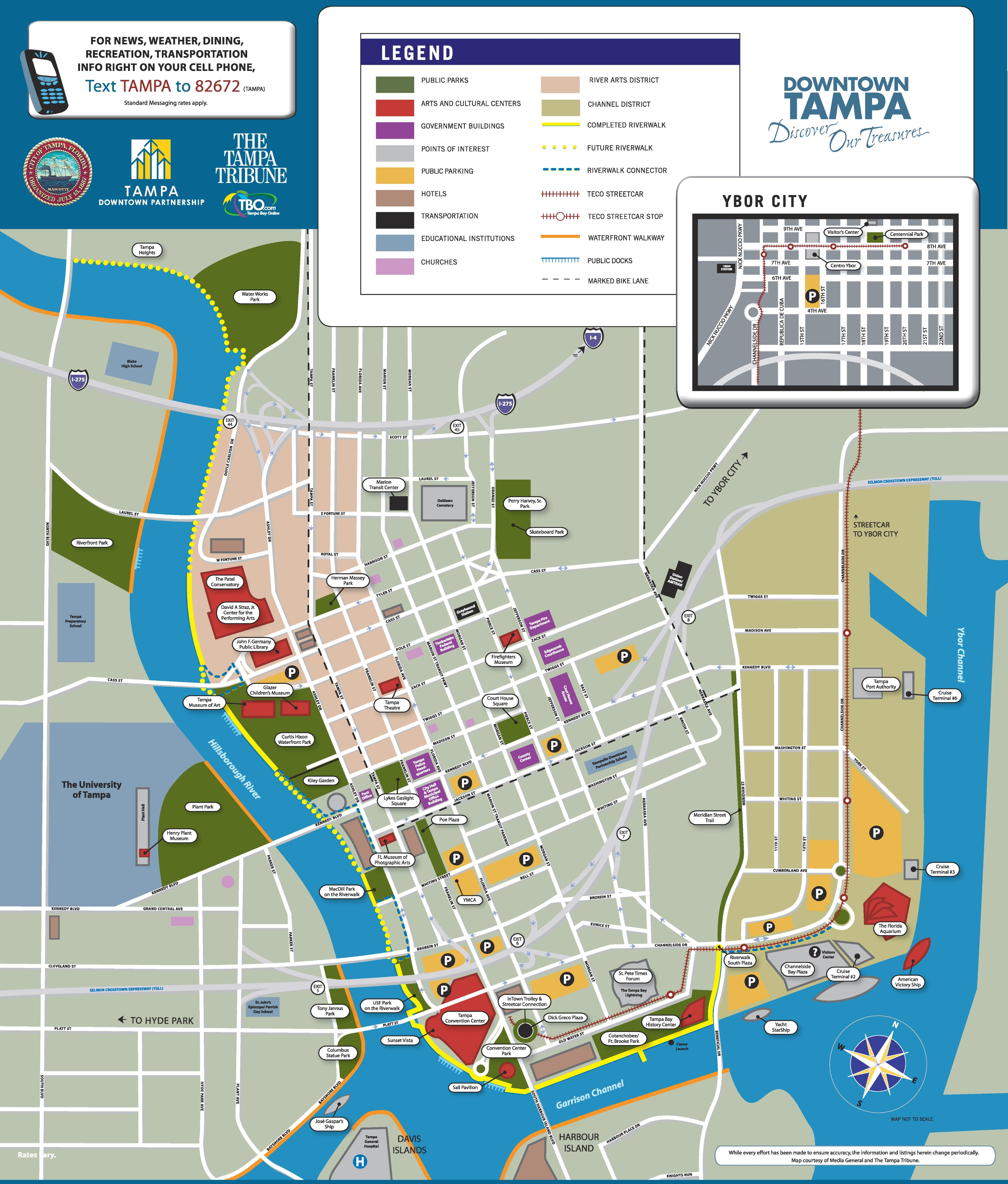Tampa Maps Florida US Maps Of Tampa - Where is tampa on map of us