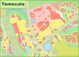 Temecula city center map
